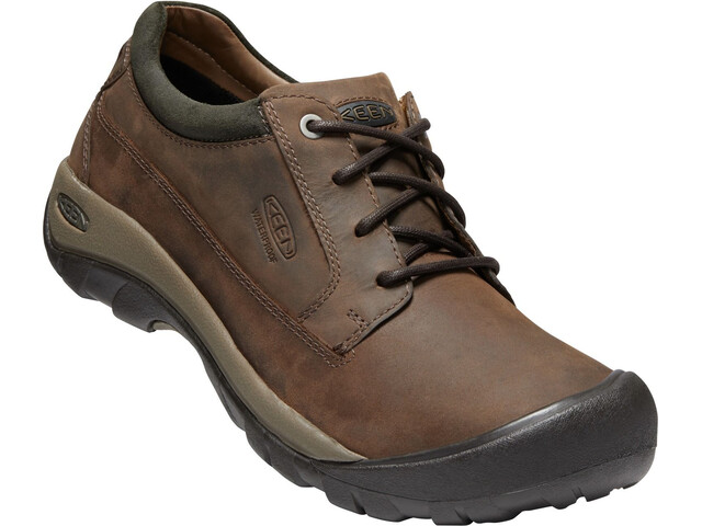 Keen M's Austin Casual WP Shoes choco brown/bla